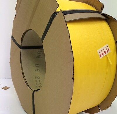 "Poly Strapping 1/2"" x 0.22 9.9M Ft 8 x 8 Machine  Grade"