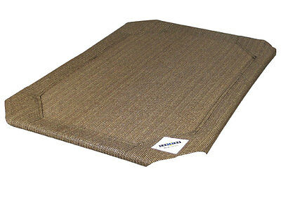 Replacement Coolaroo Raised Dog Bed Covers in Nutmeg