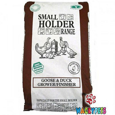 GOOSE DUCK Grower / Finisher Pellets 20kg. Allen & Page Small Holder (AP039)