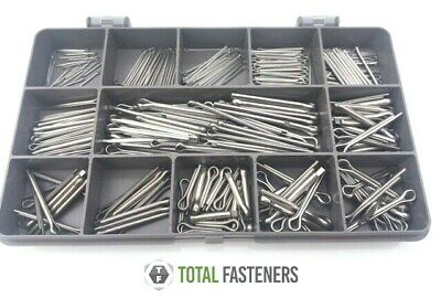 Assorted Imperial A2 Stainless Steel Split Cotter Pins - SCP02
