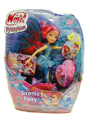 Winx Club Sirenix Fairy Bloom Doll by Giochi Preziosi Brand New! 13128