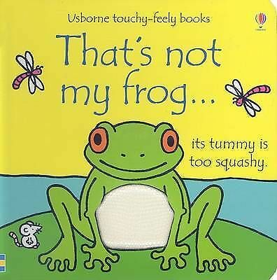 NEW  USBORNE THAT'S NOT MY FROG  board book TOUCHY FEELY