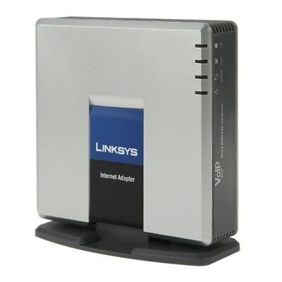 OTTIMO Unlocked LINKSYS SPA3000 VOIP PSTN Phone Adapter with FXS + FXO Port
