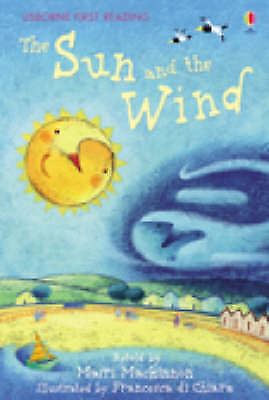 NEW USBORNE First Reading ( LEVEL ONE ) THE SUN and the WIND paperback 1