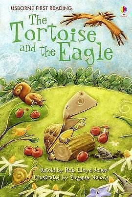 NEW USBORNE First Reading ( LEVEL TWO ) the TORTOISE and the EAGLE paperback 2