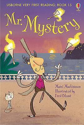 NEW USBORNE Very First Reading (15)  MR MYSTERY paperback