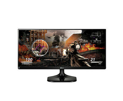 Genuine LG 29UM58-P - 29 Inch UltraWide 21:9, 5ms IPS LED Monitor - VG - In Box
