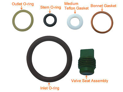 Scuba Valve Service Kit Spare Parts Rebuild Kit for Yoke Type # KIT-K4
