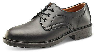 Premium Managers Mens Formal Leather Steel Toe Cap Safety Office Brogues Shoes