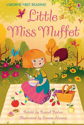 NEW USBORNE First Reading ( LEVEL TWO ) LITTLE MISS MUFFET paperback Leve 2