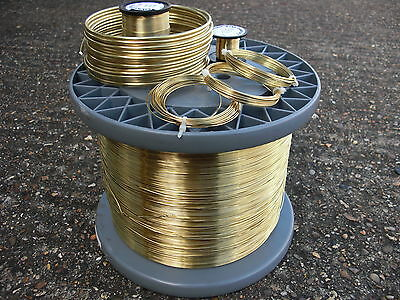 Bare solid Brass wire 2mm 12 GAUGE  500grams jewellery / craft  / model making