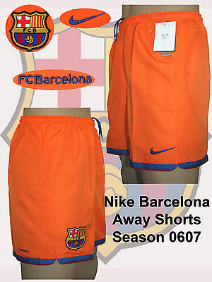 "Barcelona Away Shorts Small 28-30""(WITH BRIEF) REDUCED"