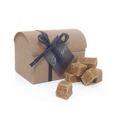 Luxury Plain Fudge Gift Box 300g Traditional Smooth & Creamy Butter Fudge Chest