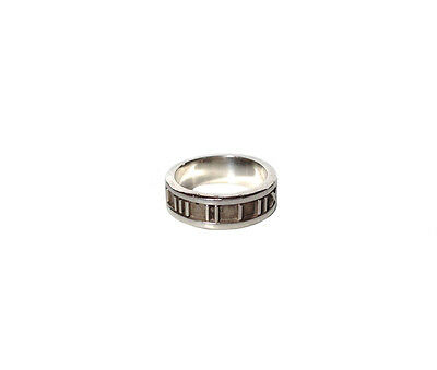 TIFFANY & Co. Sterling Silver 'ATLAS' RING 1995 ITALY 925 Size 5