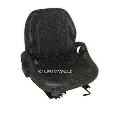 Caterpillar Forklift Vinyl Suspension Seat Assembly Cat  C5000 Parts 91A400040