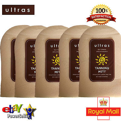 Ultras Tanning Application Mitt No Streak Staining Mit Fake Tan Applicator Glove