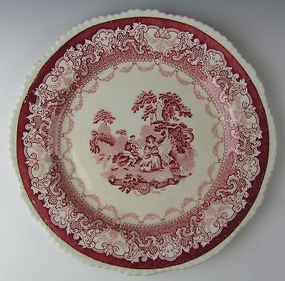 Wood and Sons China WATTEAU Dinner Plate(s)