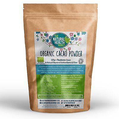 Certified Organic Raw Cacao Powder • High Quality Peruvian Cocoa / Criollo