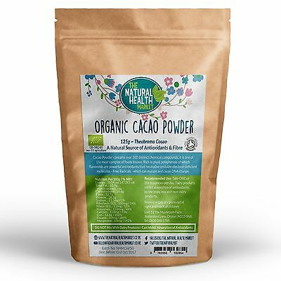 Organic Raw Cacao Powder High Quality Peruvian Cocoa / Criollo Certified Organic
