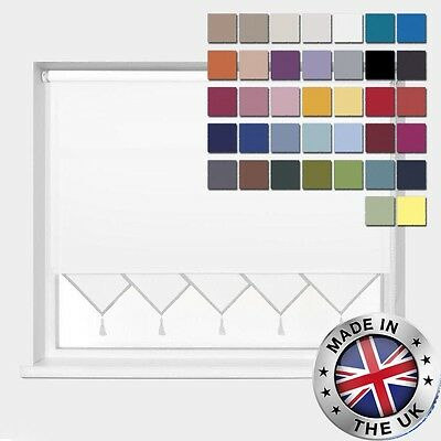 **Bargain** Made To Measure *Easyfit* 37 Cols! * Triangle Edge Roller Blinds