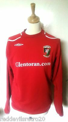 Glentoran FC (Northern Ireland) Official Umbro Football Shirt (Adult Medium)