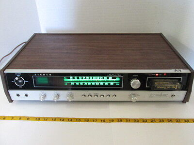 Vintage Fisher 8 Track Player Model 4080 Radio Music Center Series SKU A4 S