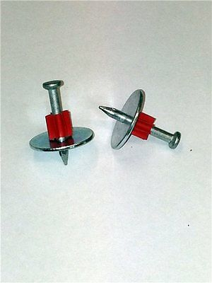 Drive pin 32mm with 25mm washer 10s25 Box of 100