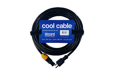 Blizzard Lighting TRUE-MAIN-1425 Powercon True to Edison 14 AWG 25' UL APPROVED