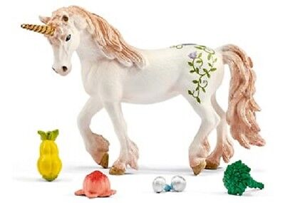 Schleich World Of Elves Accessory Set 42141 - Unicorn & Pegasus Feed Set