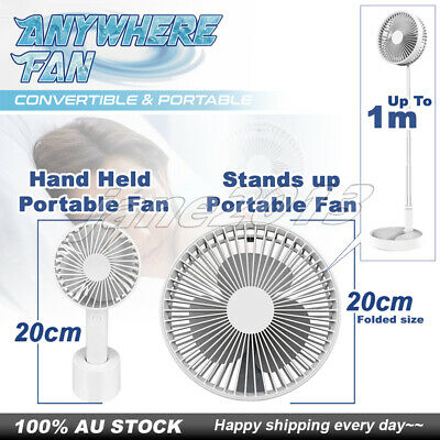 3 Speed Mini USB/Li-ion Battery Rechargeable Portable Multifunctional Fan