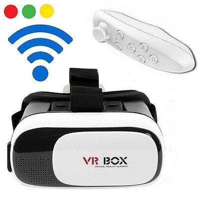 VR BOX 2.0 Occhiali Realtà Virtuale 3D Virtual Reality + Gamepad Bluetooth