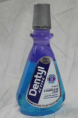 Dentyl Mouthwash Plaque Fighter Icy Mint 500ml, Dental Rinse,