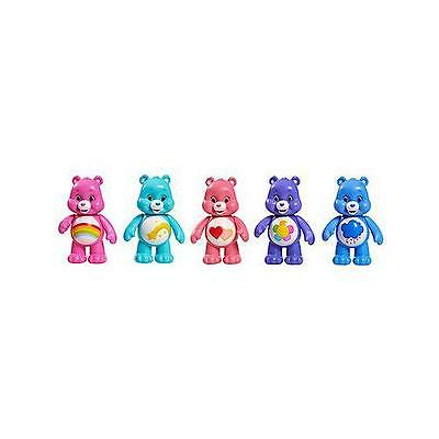 Care Bears JP43080.4300 Articulated Colourful Figures Pack of 5 3+ Years - New