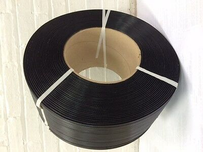 "Poly Strapping 1/2"" x 0.21 9,000 Ft 8 x 8 Hand Grade"