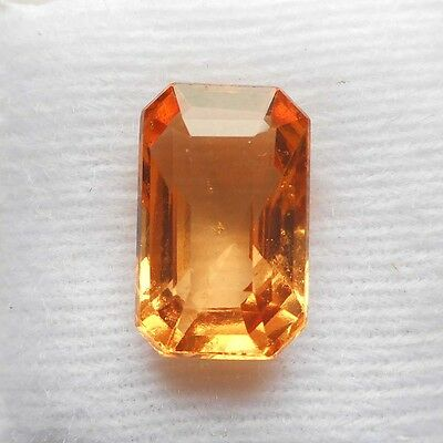 6.75cts Natural UNHEATED UNTREATED HESSONITE GARNET Loose Gemstone from Ceylon