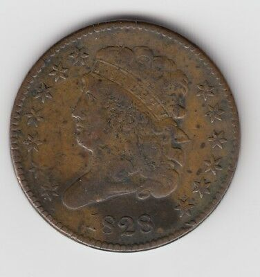 1909 S Indian head penny VG10