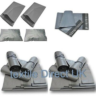 "MAILING BAGS GREY STRONG POLY MAILING BAGS 22 X 30"" (550 X 750mm) BEST SELLER"