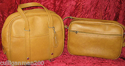 1 - lot of 2 - Vintage Dionite Carry on Bags from the 70's (2016-190)