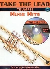 TAKE THE LEAD Huge Hits Trumpet Book & CD