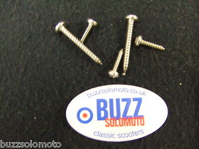 Vespa Headset Top Fixing Kit Stainless Steel British Made PE PX EFL LML