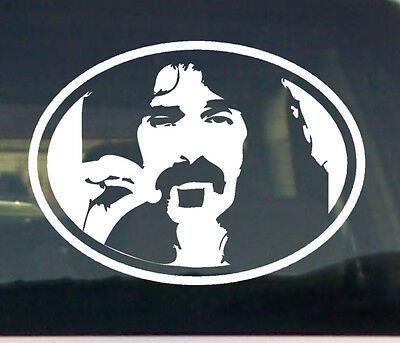 Zappa 1 vinyl decal sticker counter culture 60/'s Frank guitar Mothers