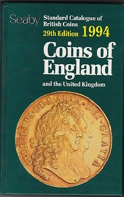Coins of England and the United Kingdom 1994 SEABY 29th edition