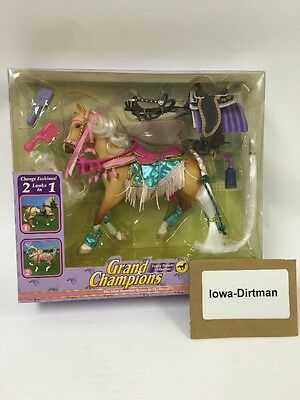 Grand Champions Fashion 2 In 1 Classic Collection 50077 Palomino Mare Horse New