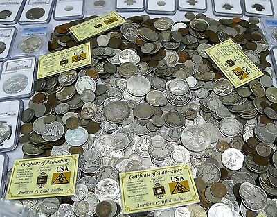 Start The Child In Your Life A Coin Collection! 40 Estate Coins! Great Price!!