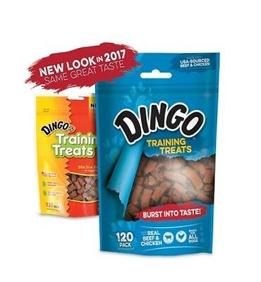 Dingo Training Treats For Dogs Chews Beef Made in USA 120pk