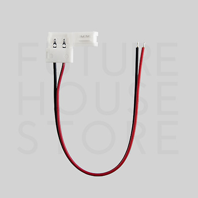 5050 LED Strip Connection Wire 10mm Easy Quick Solder-Less Click Connector Clip