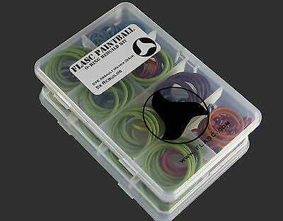 DYE Assault Matrix DAM 5x color coded o-ring rebuild kit by Flasc Paintball