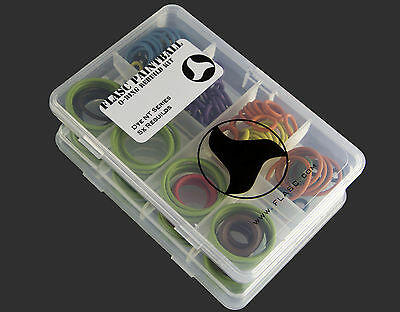 DYE NT / NT11 5x color coded o-ring rebuild kit by Flasc Paintball