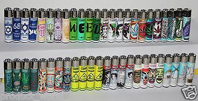 Lighters CLIPPER 12 DIFFERENT Series Full Size lot 48pcs Refillable Original