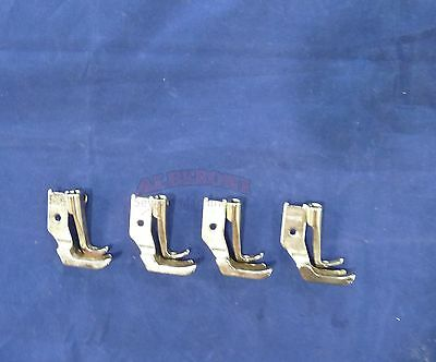 4 Sets of New Welt Piping Foot For JUKI DNU-1541 Industrial Walking Foot